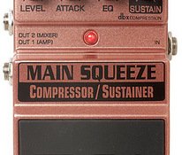 Digitech Main Squeeze Compression Pedal