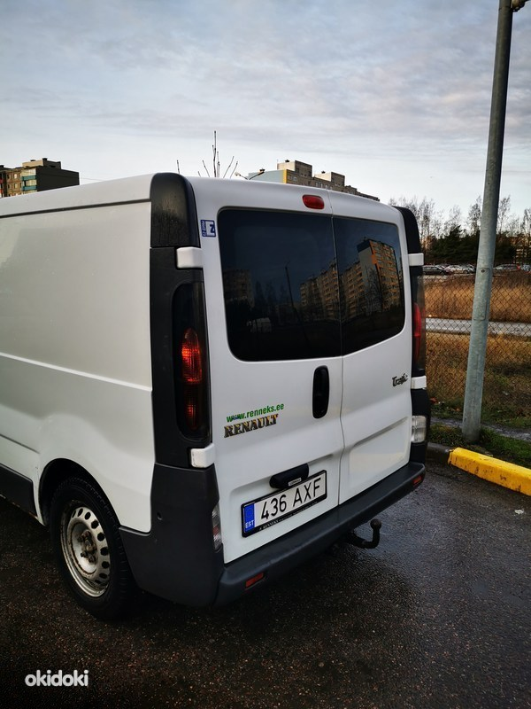 Renault Trafic 60kw 2006a (фото #3)