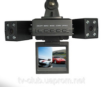Colorful car dvr 2 камерная