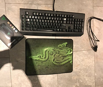 Razer Blackwidow and Razer Deathadder