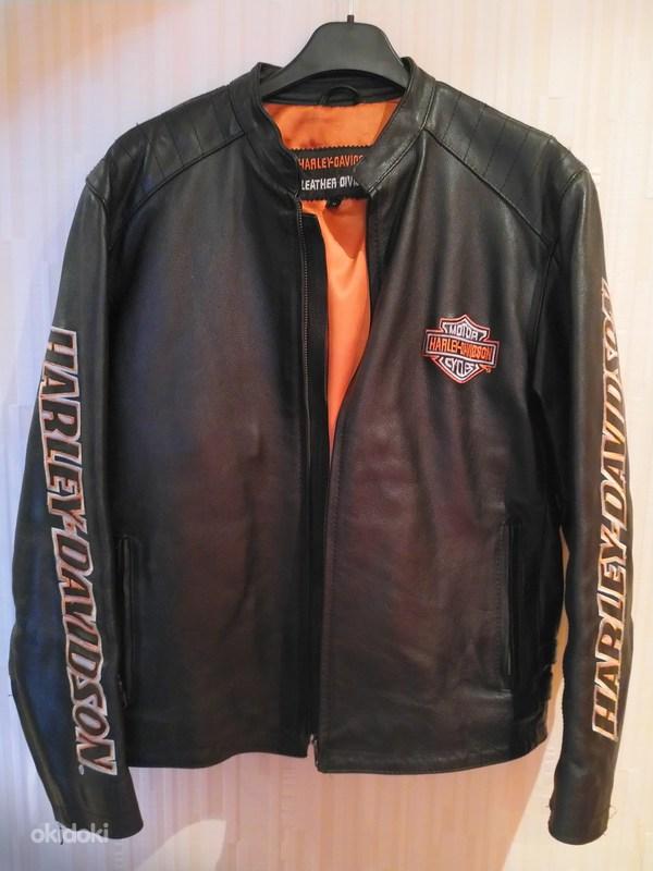 Кожаная куртка Harley Davidson M - Tallinn - Мужская одежда, Куртки купить и продать – okidokiokidoki