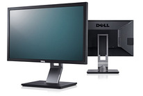 "Professional Dell P2411H 24"" Monitor With LED Full HD 1080p"