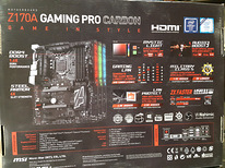 Emaplaat Z170A Gaming Pro Carbon