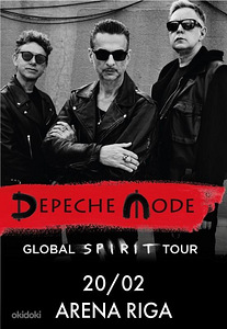Depeche Mode Riga 20.02