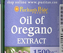 Oil of Oregano Extract 1500 mg 90шт, Puritans Pride (Ameerik