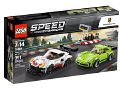 Uus Lego 75888 Porsche 911 RSR and 911 Turbo 3.0 391 osa