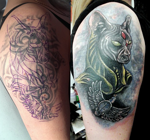 Tattoo, Cover Up, TALLINN