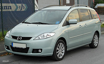 Autorent. Mazda 5. Manual 7. kohta