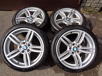 Bmw f10 f11 f12 m pack original rims r19+7,2mm pirelli tires