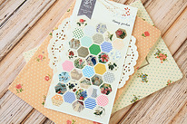 HONEY GARDEN Diary / Deco / Scrapbooking Stickers