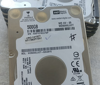 500gb kõvaketas 2.5'' SATA Western Digital HDD