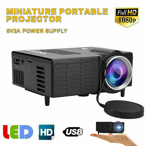 HD 1080P Mini LED Projector, uus