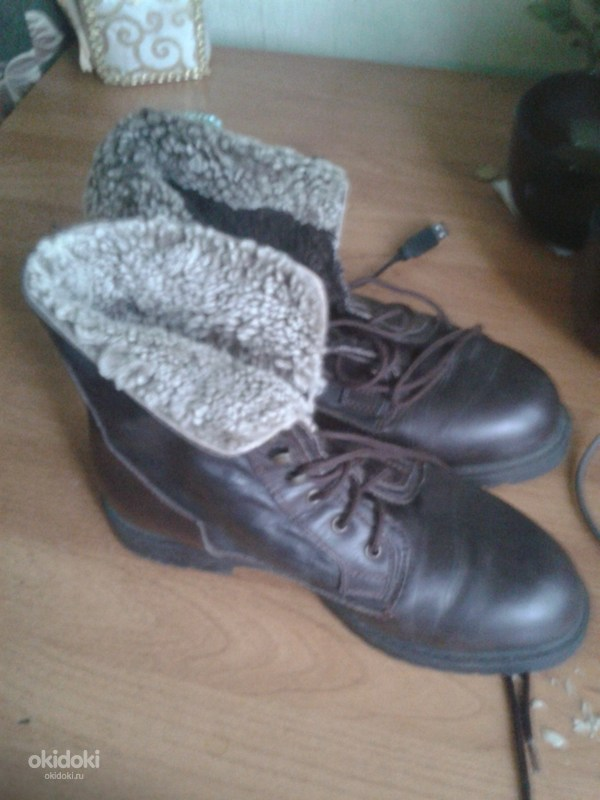 ... Фирменные замшевые сапоги и натуральные ботинки кожа (фото  3) e56d1165d6806