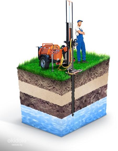 Бурение скважин на воду в кредит цена киев