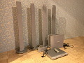 Philips DVD home theater system HTS3610