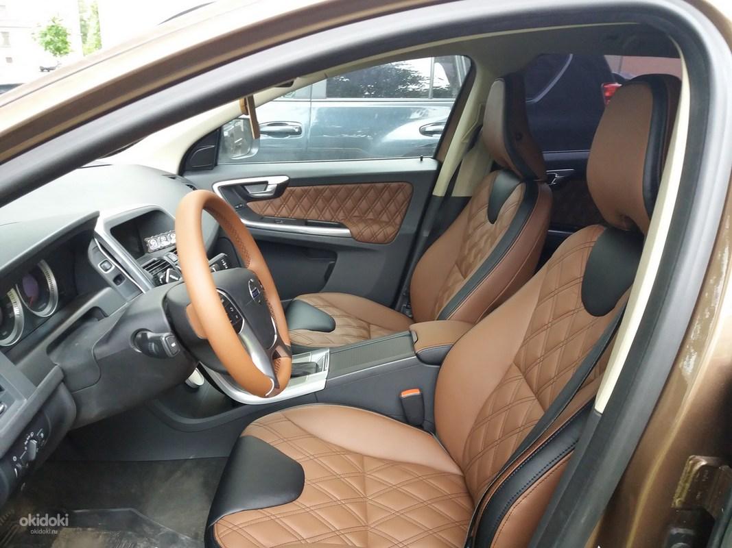 Перешить сиденье автомобиля в спб