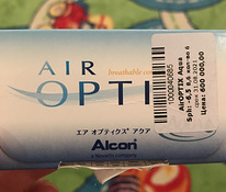 Линзы air optix agua -6,5 пара