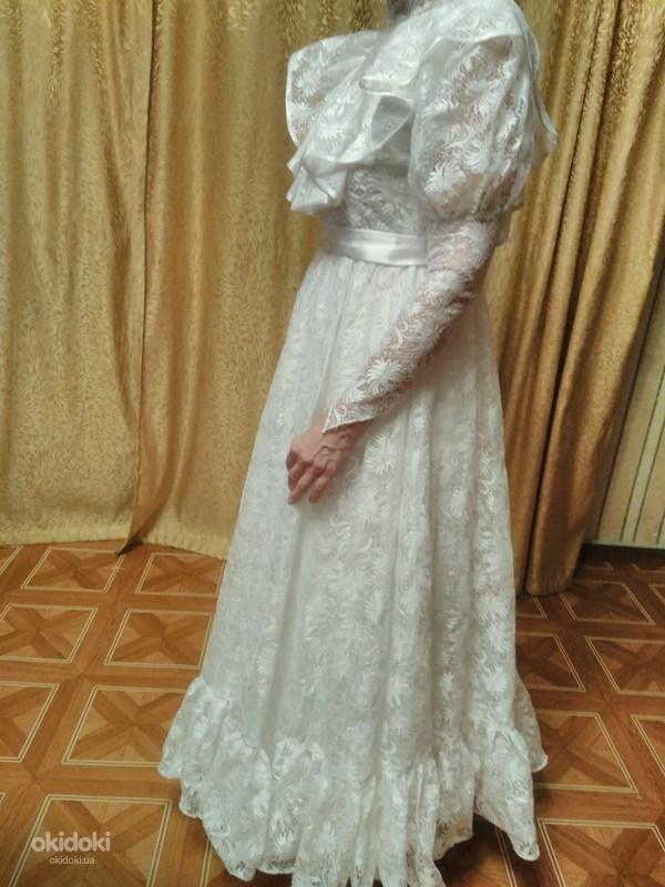 ... Гіпюрове весільне плаття (фото  3) 6686eabfceb50