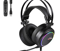 Aukey GHS5 Gaming RGB Headset 7.1