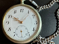 Doxa silver pocket watch