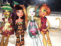 4-x originaal nukud Monster High