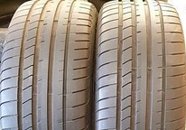 245/45/18 Goodyear Eagle F1 6,5mm 2tk Suverehvid