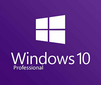 Windows 10 pro x86/64bit + usb flash +activation key
