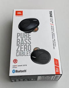 JBL Tune 120 TWS White/Black