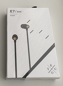 Kygo E7/500 Earphones, White/Black