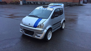 2002 Aixam micro car, 2002
